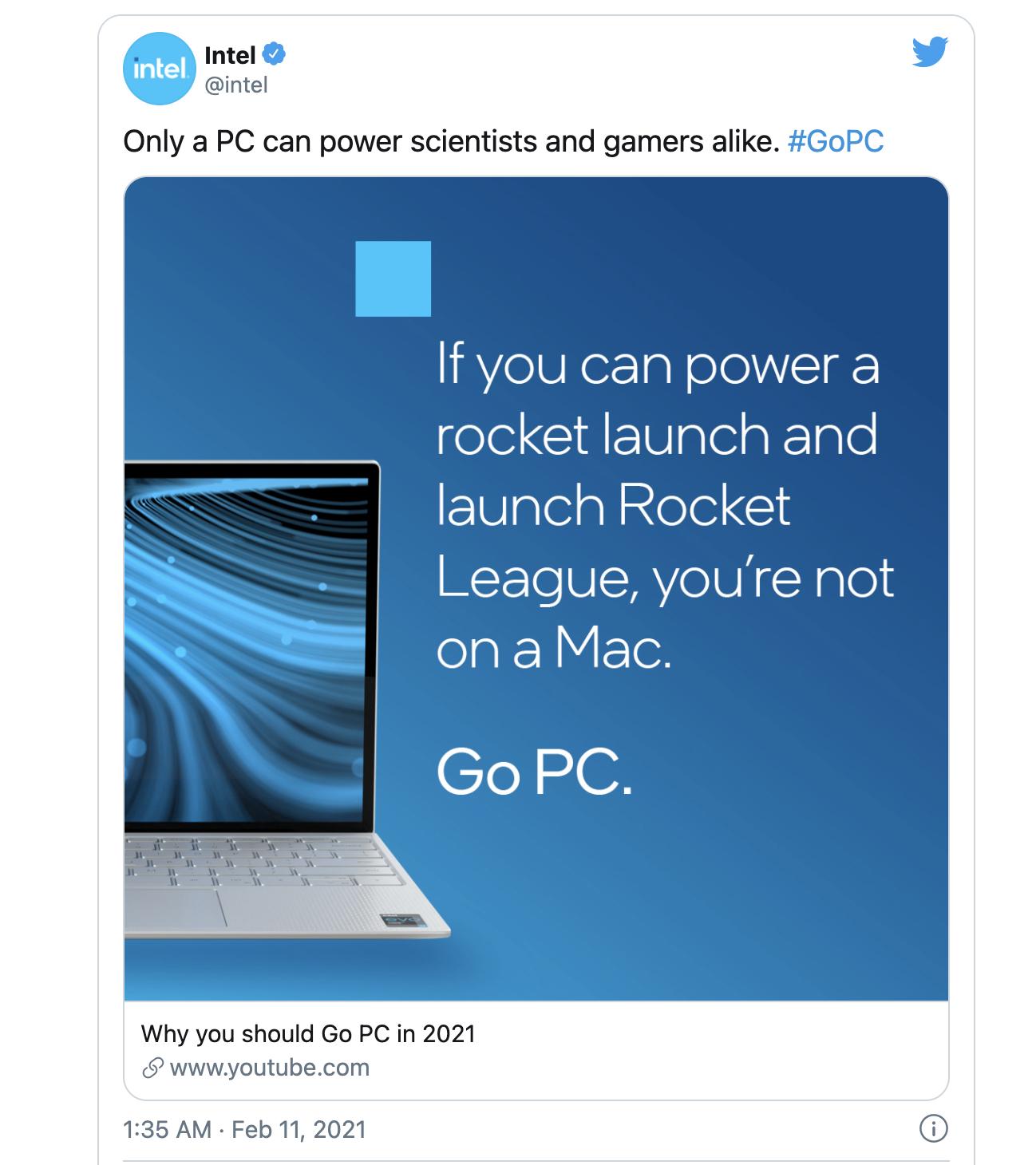 Intel多轮组合拳攻击M1 Mac:你不是Mac的目标用户!的照片 - 2