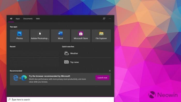 微软开始在桌面端向用户推介Edge Mobile移动版浏览器的照片 - 4