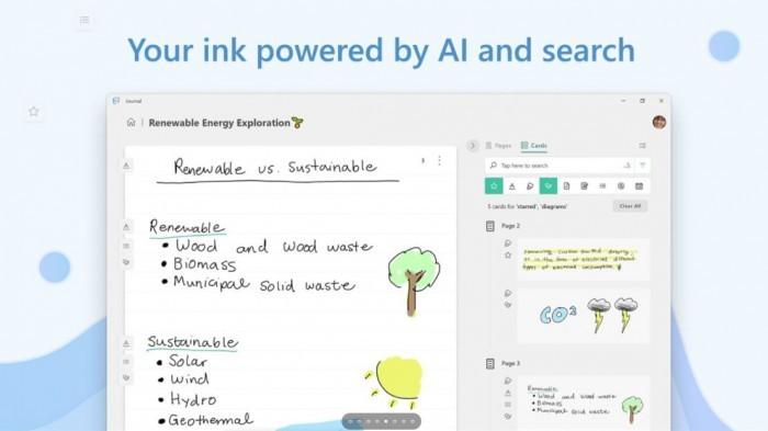 微软车库发布Win10应用Journal 适合用数码笔写字的玩家的照片 - 1