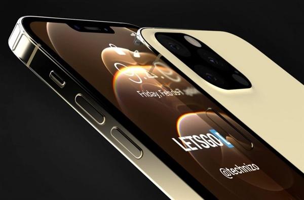 iPhone 13 Pro渲染图曝光:刘海显著缩小、充电口也没了的照片 - 3