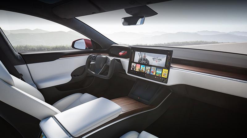 新款特斯拉Model S谍照曝光:科幻方向盘没了的照片 - 1