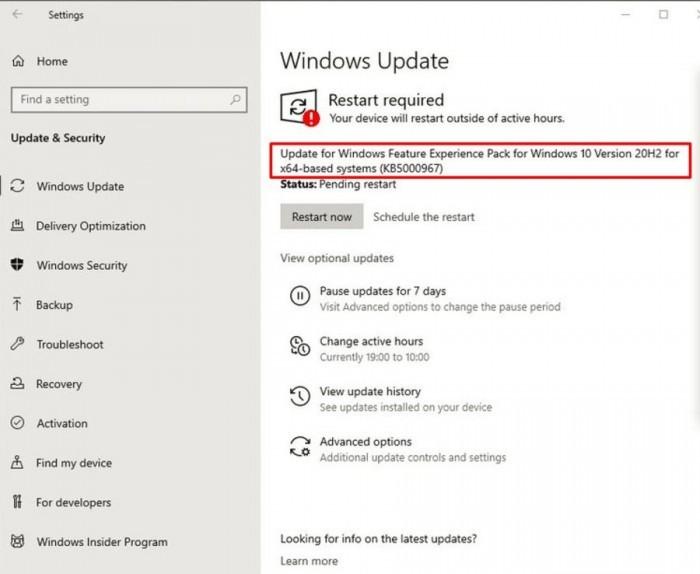 微软面向Beta频道发布Windows功能体验包的照片 - 2