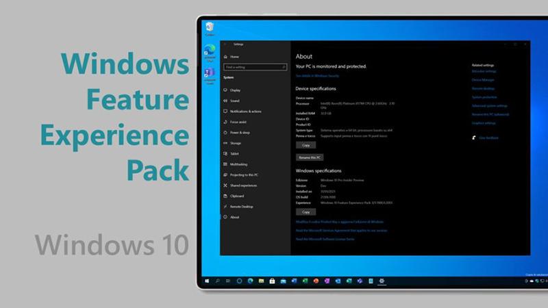 微软面向Beta频道发布Windows功能体验包的照片 - 1