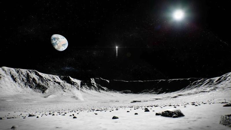 """月球""""土特产""""将展出!放大40倍后月壤颗粒长这样"""