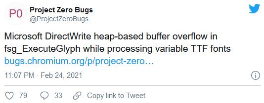 谷歌发布了一个Win10远程代码执行漏洞的概念证明代码的照片 - 2