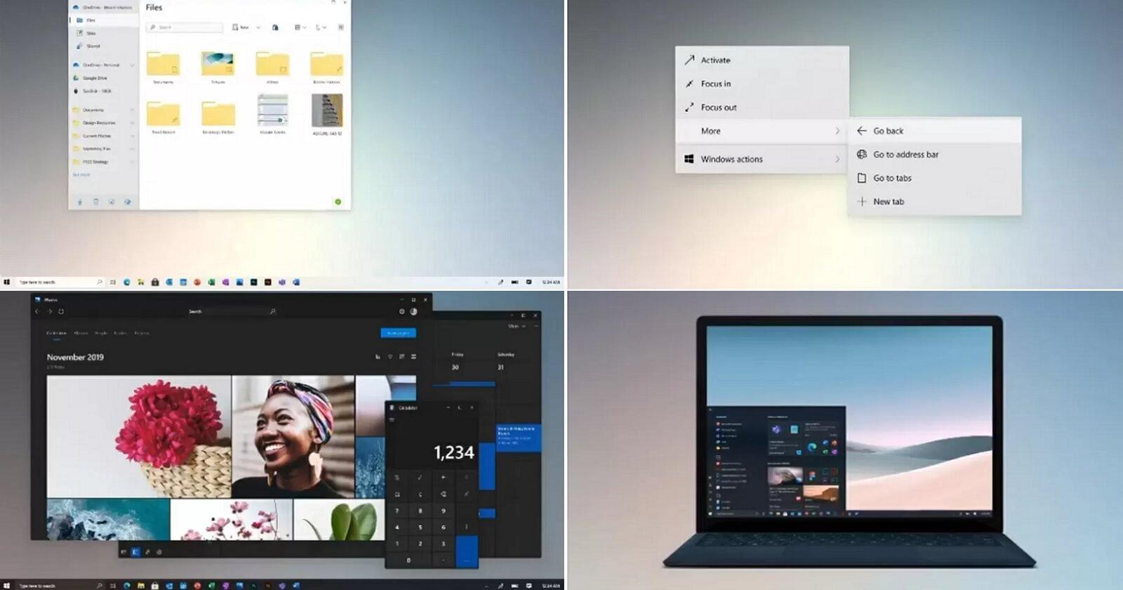 微软证实Win10 Sun Valley更新将带来激动人心的变化的照片 - 2