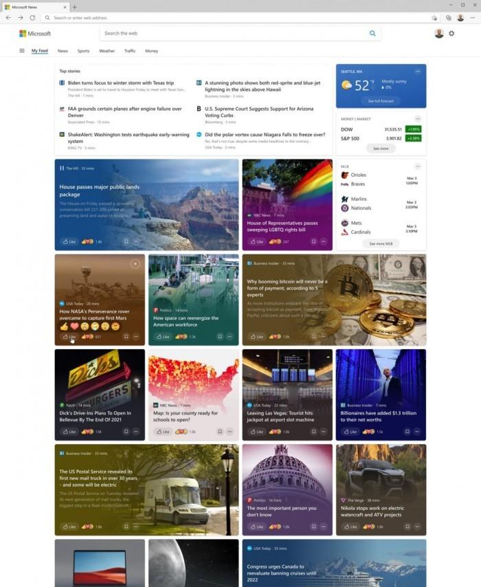 "Win10 Build 21327发布:优化""新闻和兴趣""外观的照片 - 3"