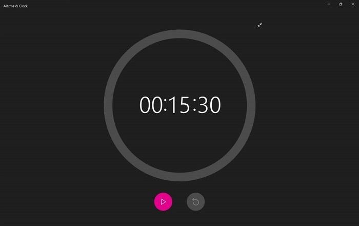 微软悄然调整了Win10闹钟时钟应用的UI的照片 - 4