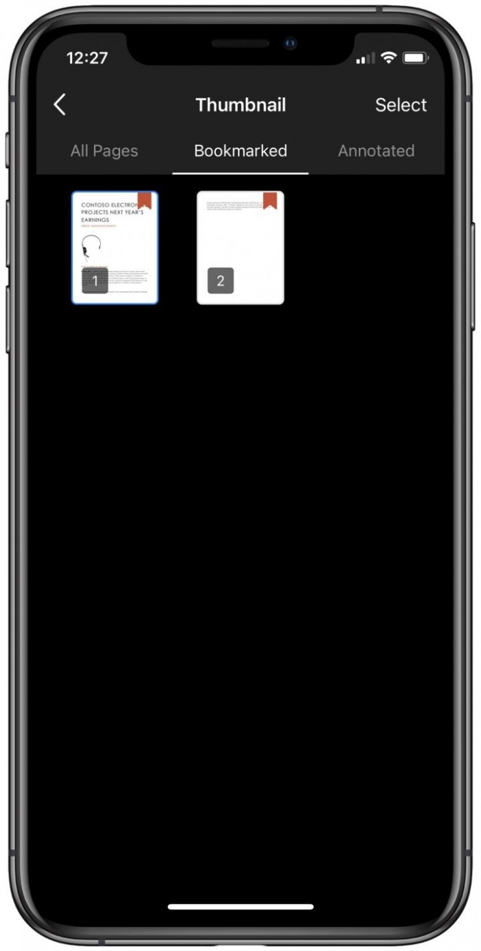 OneDrive更新:网页端引入深色模式 iOS端支持PDF书签的照片 - 6