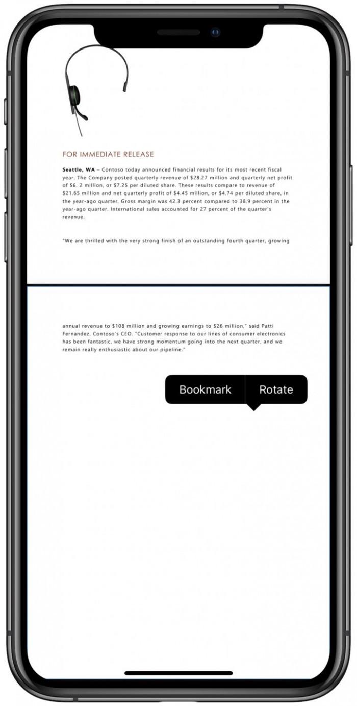 OneDrive更新:网页端引入深色模式 iOS端支持PDF书签的照片 - 5