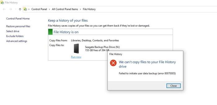 Win10更新又出Bug 导致备份损坏、摄像头故障的照片 - 3