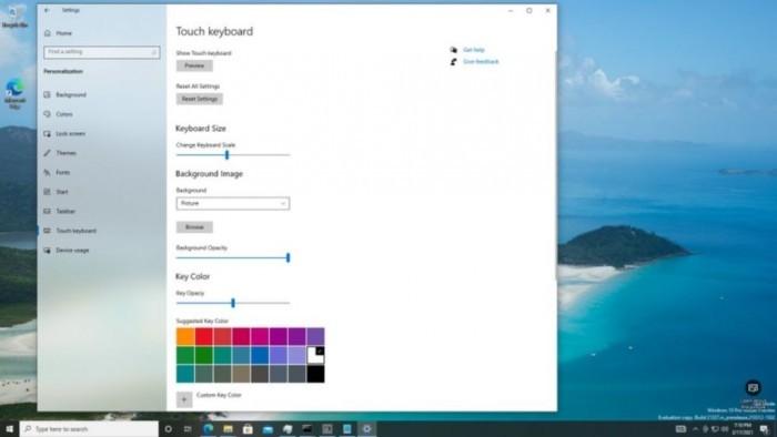 Win10 21H2最新预览版隐藏三项新功能:优化触控键盘等的照片 - 2