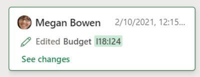 网页端Excel新功能:追踪过去60天同事对工作簿的所有更改的照片 - 5