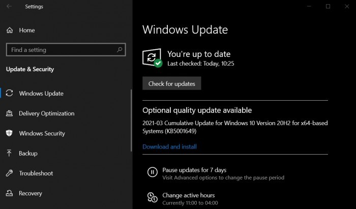 微软第三次发布Win10累积更新 修复打印蓝屏问题的照片 - 3