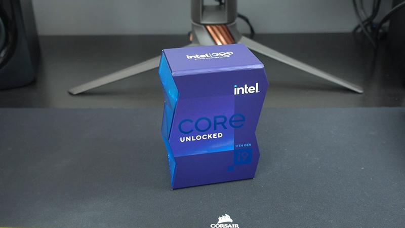 Intel 11代旗舰i9-11900K提前到手!波浪形包装盒吸睛的照片 - 1