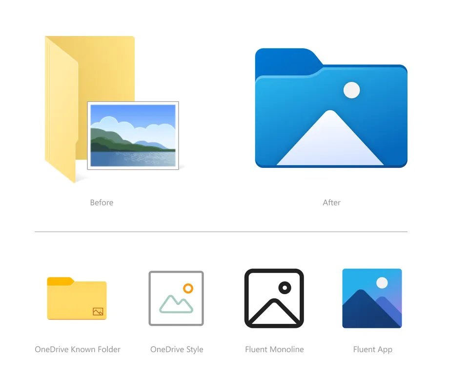 Win10将迎来新的文件资源管理器图标 色泽丰富对触控更友好的照片 - 4