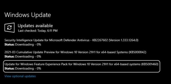 微软发布Windows功能体验包120.2212.3530.0更新的照片 - 2