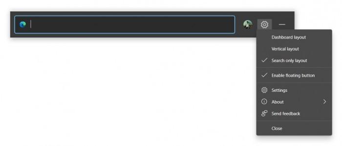 Win10将通过Edge浏览器获得浮动网页搜索功能的照片 - 4