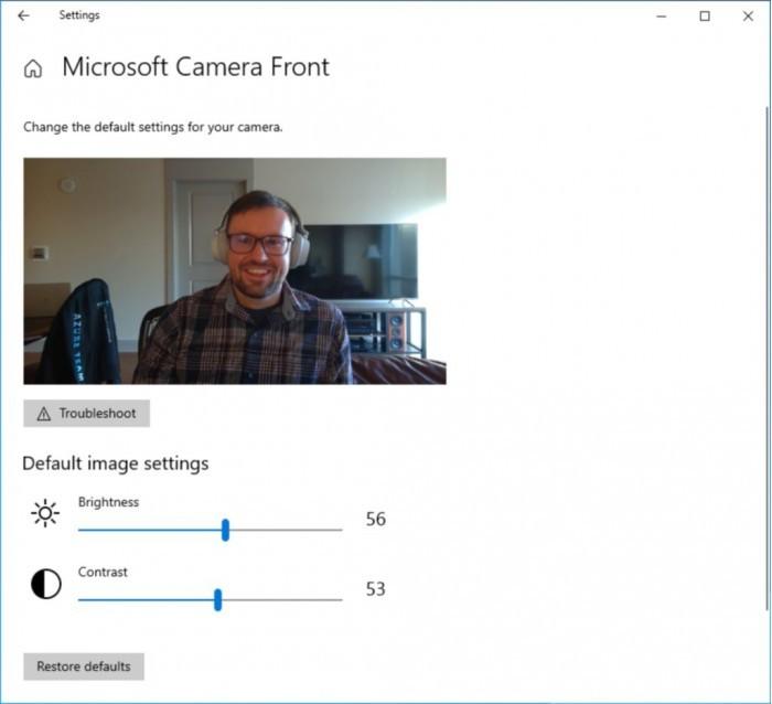 Win10 21H2优化设置应用:增强屏幕/摄像头选项的照片 - 3