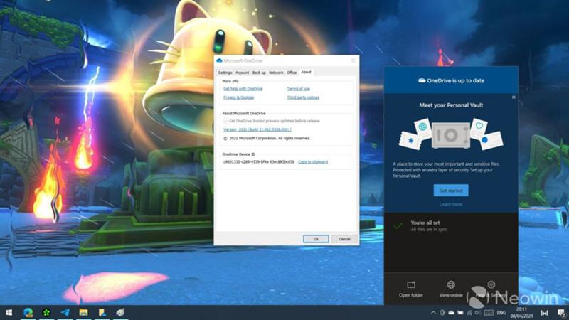 微软发布64位版OneDrive同步客户端的照片