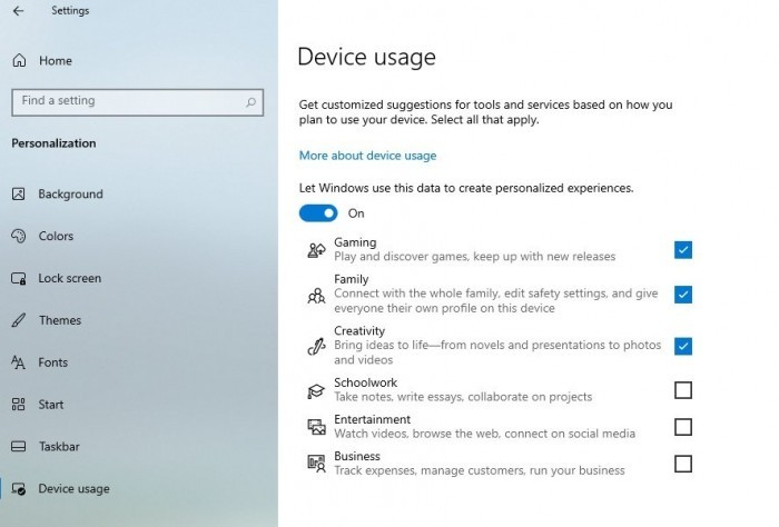 Win10新功能会根据使用场景向用户提供定制化建议的照片 - 2