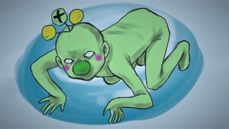 """日本放射性氚""""吉祥物""""引网友疯狂吐槽的照片 - 1"""