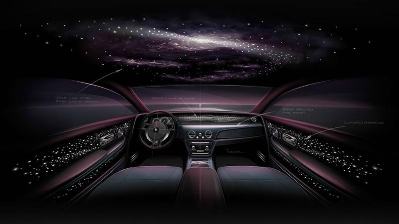 劳斯莱斯幻影天魄中国首发:躺在车里看星河的照片 - 1