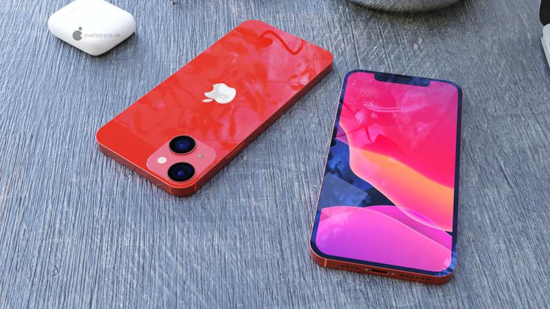 iPhone 13 mini高清渲染图:刘海更下、屏占比更高的照片 - 1