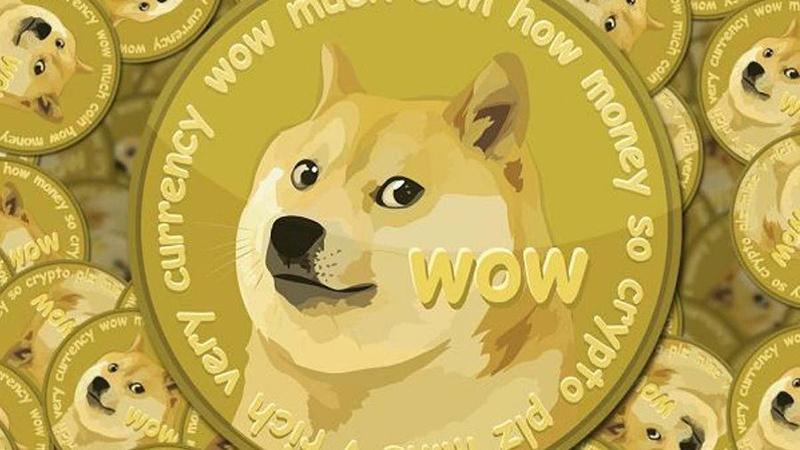 """狗狗币单周暴涨400% 一年400倍 一个""""玩笑""""吹出500亿市值的照片 - 1"""