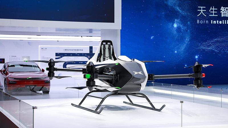 小鹏第五代飞行器亮相:能坐2人 年底开放试乘