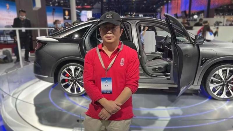 360创始人周鸿祎带队调研哪吒汽车