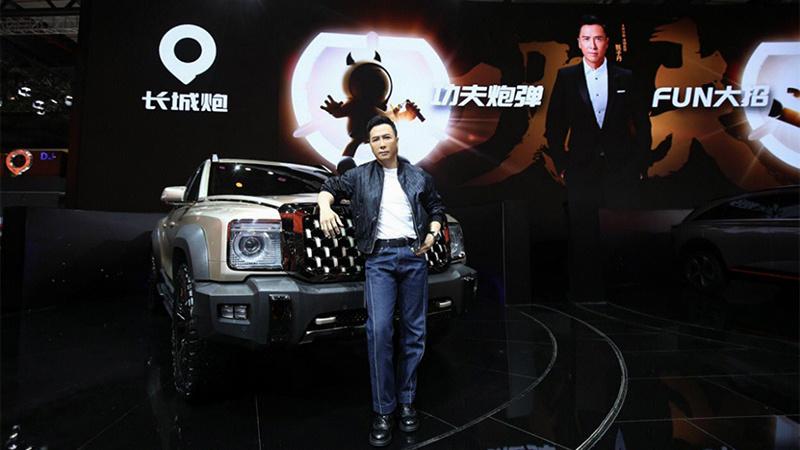 甄子丹代言 长城发布中国首款全尺寸皮卡的照片 - 1