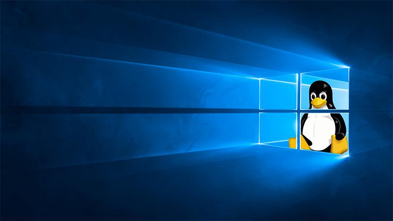 Win10 Linux子系统已提供对GUI应用程序的初步支持的照片 - 1