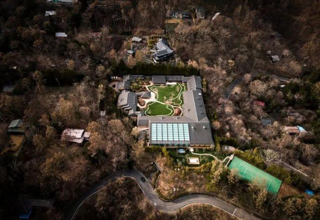 比尔盖茨2万平米新别墅完工:地下三层引热议的照片 - 4