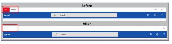 Win10预装的微软Office应用将迎来一项大升级的照片 - 2