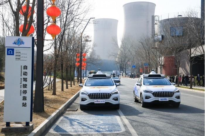 百度无人驾驶出租车实车体验:电影科幻场景成真的照片 - 2