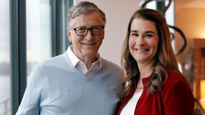 比尔·盖茨宣布离婚的照片