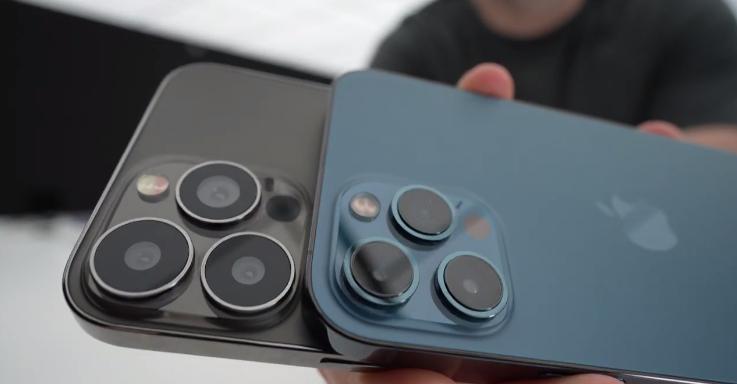 iPhone 13 Pro Max模型机曝光:提前感受下苹果新外形设计的照片 - 3