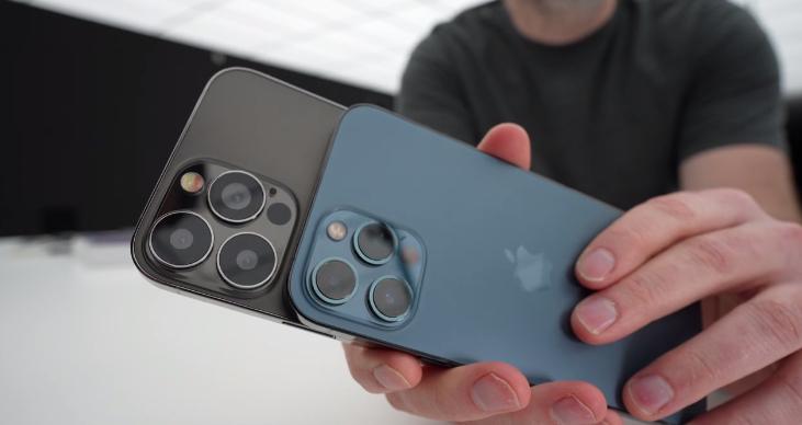 iPhone 13 Pro Max模型机曝光:提前感受下苹果新外形设计的照片 - 5