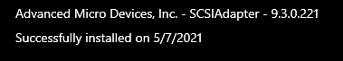 AMD SCSIAdapter驱动更新导致Win10 PC崩溃的照片 - 4