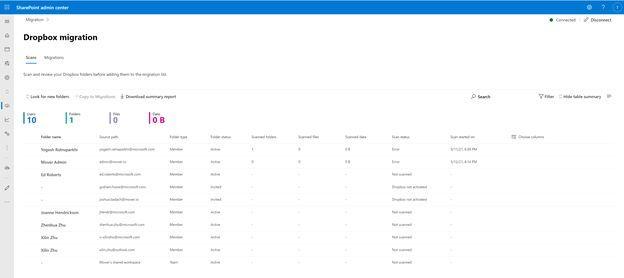 微软推全新迁移工具:可将Dropbox内容迁移到Microsoft 365的照片 - 3