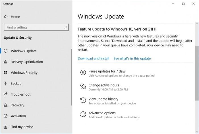 Windows 10 21H1 2021年5月更新现已正式推出的照片 - 2