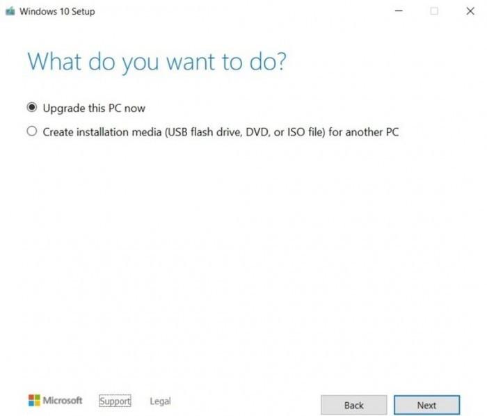 微软更新多媒体创建工具 可升级安装Win10 21H1功能更新的照片 - 6