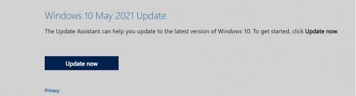 微软更新多媒体创建工具 可升级安装Win10 21H1功能更新的照片 - 3