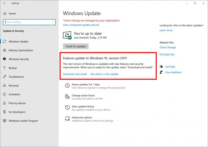 Win10 21H1发布后的首个更新上线 包含大量的修复内容的照片 - 2