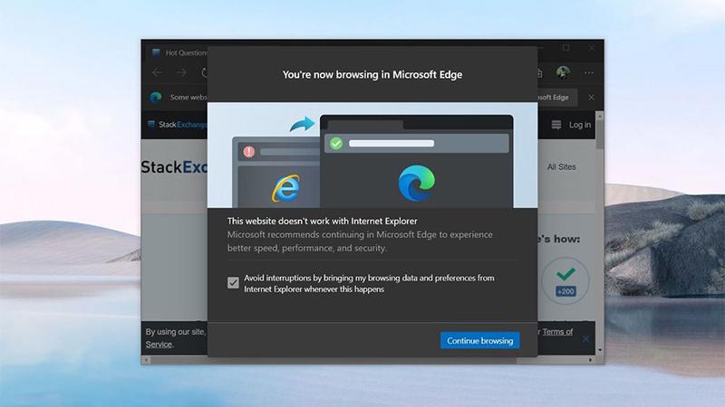 Win10 21H2将成首个禁用IE的功能更新:自动重定向到Edge浏览器的照片 - 1
