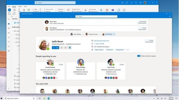 微软计划为Win10系统开发统一的电子邮件客户端的照片 - 1