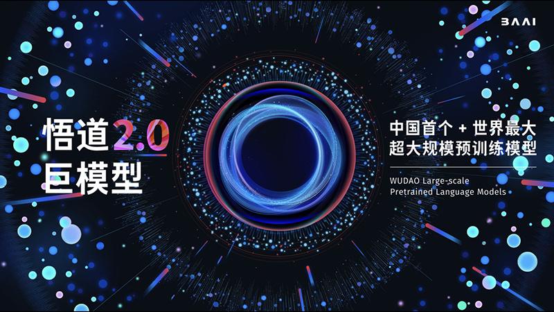 """超大规模智能模型""""悟道2.0""""发布 参数规模达GPT-3的10倍的照片 - 1"""