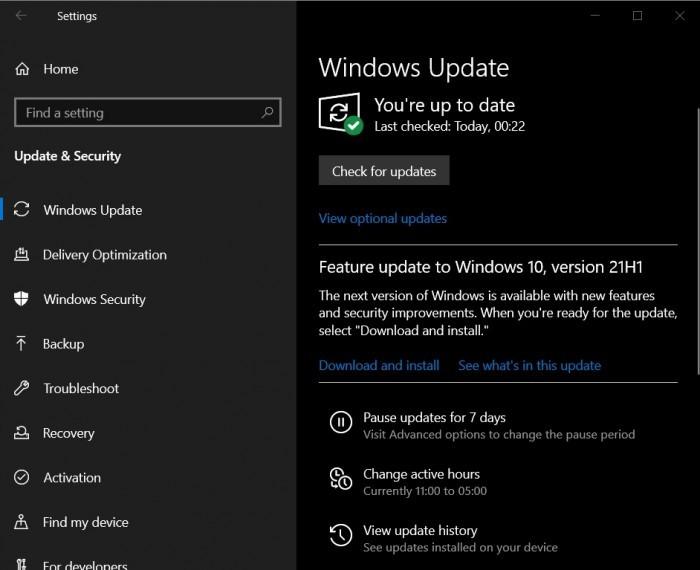 Windows 10 21H1 五月更新现已向用户广泛提供的照片 - 2