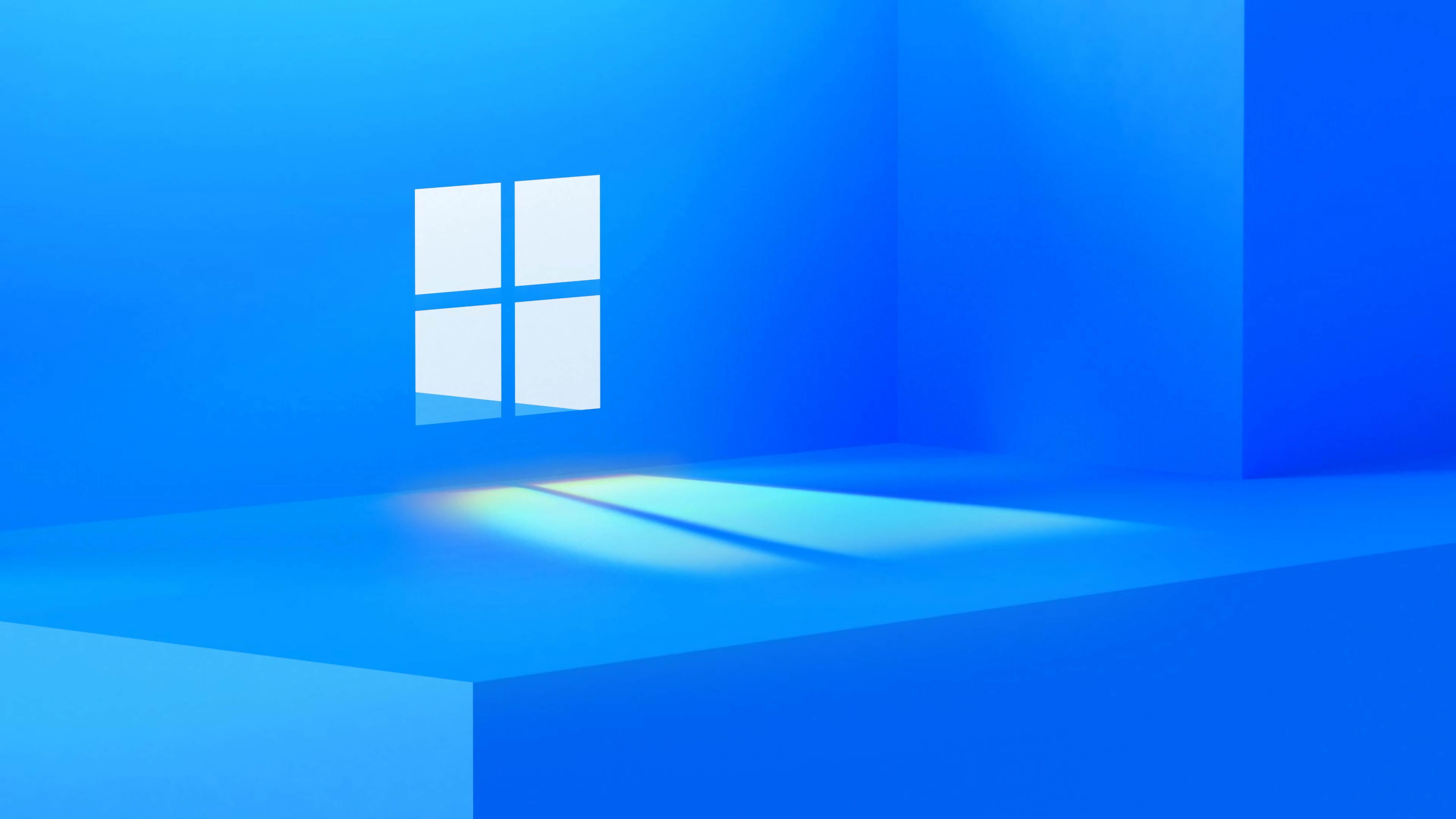 Windows 11的第一张系统高清4K壁纸的照片